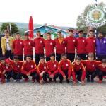 U 14 von Galatasaray Istanbul nach einer Trainingseinheit