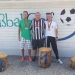Die drei besten Herren bei der 1. Deutschen Betriebssportmeisterschaft 2013