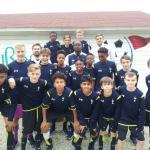Die U 14 von Tottenham Hotspurs war 2015 bei uns und hatte viel Spaß